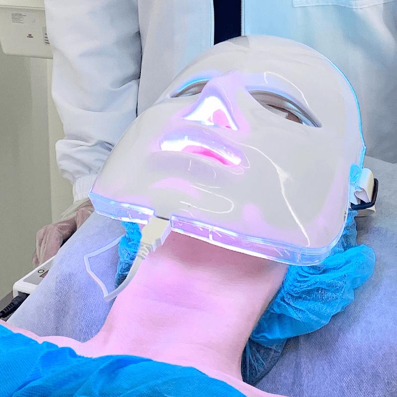 Porcelanización para dar mayor iluminación a la piel